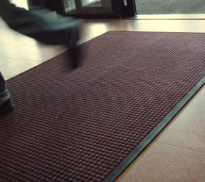 Rubber Edged Door Mat